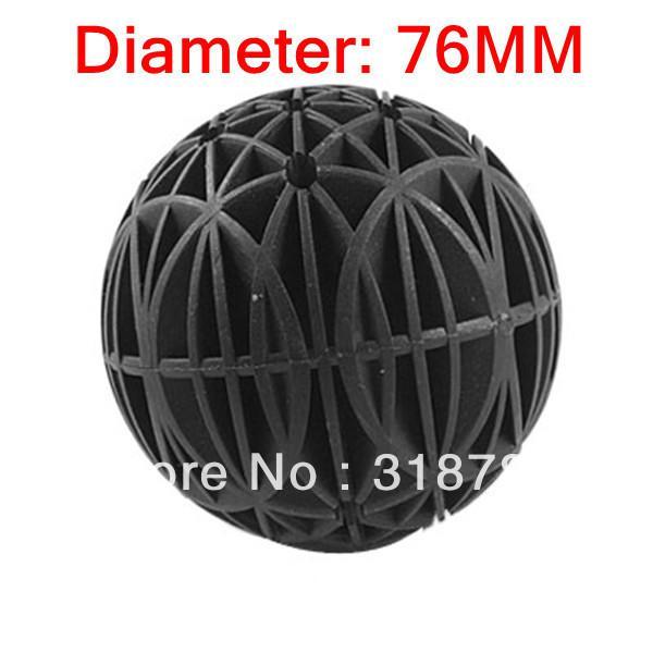 2016 76mm bio balls filter media with sponge for fish tank for Diy bio balls