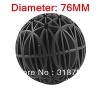 Cheap 76mm Bio Balls Filter Media with Sponge for Fish Tank Koi Pond Filter bioballs 10pcs