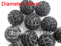 Wholesale 100Pcs Sponge Bio Ball mm Plastic Bioball Filter Media for Aquarium Fish Pond