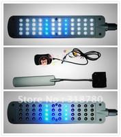 Wholesale AC220 V Cl White Blue Fish Tank Aquarium V Clip Lamp LEDs Lighting Light LED Clip Lamp