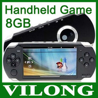 Cheap Cheap HOT SELL 8GB 4.3 Inch PMP Handheld Game Player MP3 MP4 MP5 Player Video FM Camera Portable Game Console