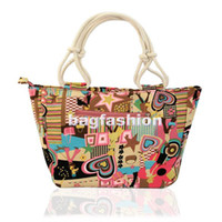 Wholesale Women s canvas shopping bag Handbags fashion extra large beach bags Tote Shoulder Bag drop shipping