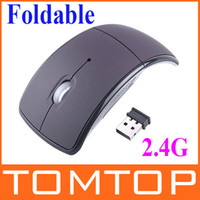 Wholesale USB Wireless GHz Cordless Arc Folding Mouse For Laptop Desktop Tablet pc C899