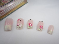 Decal 3D Plastic Acrylic Nail Art Tips french nail art wrap tips Acrylic Nail Design Art toenail tips