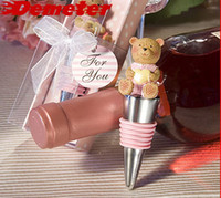 Wholesale 2013 New Marriage Wedding Gift Wine Accessories Bottle Wine Stopper set