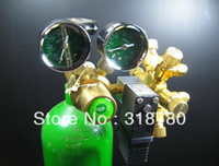 Wholesale Professional UP Dual Gauge co2 Regulator to for Marine Water Plant Aquarium fish tank NEW