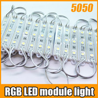 Wholesale led strip White Warm white red green bule Warteproof SMD LED module lamp light