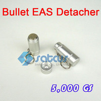 Wholesale GS Bullet EAS Hard Tag Detacher High magnetic intensity Cool shape Easy to Carry