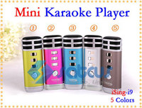 Wholesale New style iSing i9 Portable Pocket MINI Combination Karaoke KTV player for Gifts
