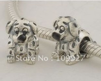 Wholesale Retail Silver Bead Charm European Fit Bracelet for pandora DX061