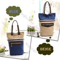 Women wholesale designer lots - 3PCS handbag celebrity handbags women canvas designer satchel shoulder bag cross body