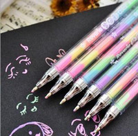 Wholesale Colorful Gel pens can turn color Roller Ball Pens Office amp School supplies stationery pastels