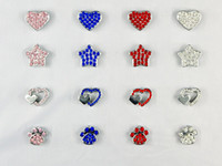 100pcs (Mixed order) 10mm Rhinestone Dog Pet Cat Charms DIY ...