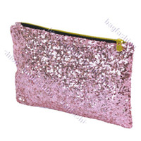 Wholesale 10PCS autumn Sparkle bag lady purse zipper wallet clutch handbag women designer bags