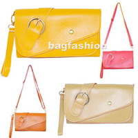 Wholesale Fashion latest girls handbags Sweet Color Shoulder messenger Bag handbag china drop shippi