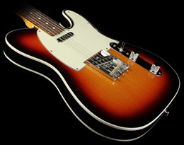 Wholesale best American Vintage Telecaster Custom Guitar T Sunburst OEM Available Cheap in stock