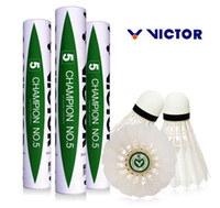 Wholesale Tube Pieces Genuine Authentic Original Victor Champion NO Shuttlecock Badmint