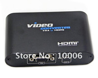 Wholesale New PC to P HDTV VGA Audio to HDMI HDTV Video Converter Adapter Box LKV350 wholesa