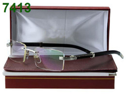 Wholesale hot sale fashion eyeglasses rimless eyewear frames brand new with tags original box able mix order