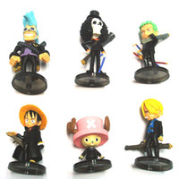 Wholesale Toys for Child Toys Cartoon One Piece Anime Figures Collection with Stand Base