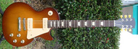 Solid Body 6 Strings Mahogany best Factory Mahogany guitar 60's Tribute Honeyburst Rare Darkback electric guitar OEM Available Che