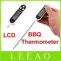 Wholesale 70pcs Digital Cooking Food drink milk Probe measure Thermometer Kitchen BBQ Pen style Pens Shape