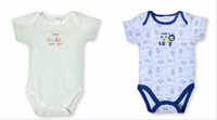 Unisex Summer 100% Cotton Summer baby clothing toddler rompers baby rompers boys girls jumpsuits 0-1.5Year infant bodysuits