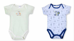 Wholesale Summer baby clothing toddler rompers baby rompers boys girls jumpsuits Year infant bodysuits