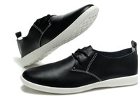 Wholesale 2013 New Men Casual Shoes Fashion British leisure shoes Outsole Cheap Leather shoes