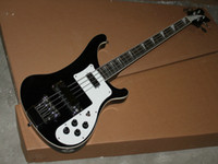 Wholesale 4 String Electric Bass Guitar stereo varitone BLACK