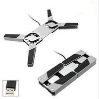 Single Fans other  Mini foldable usb laptop cooling pad cooling rack radiator cooling base portable