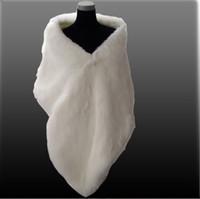 Wrap Fur Sleeveless 07 Free shipping Fashion IVORY FAUX FUR WEDDING BRIDAL WRAP BRIDAL JACKET SHAWL