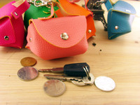 Wholesale by EMS PU mini handbag cm key holder key case coin purse change bag