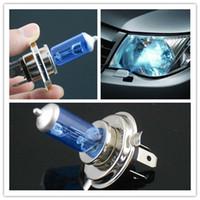 H4 auto dispatch - 2015 hot sale Auto Car Front Head Light Headlight Blue Glasses H4 V W P43T Lamp hrs Dispatch