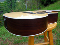 Wholesale best Acoustic guitar Cutaway SpruceRosewood Aura F PreampPickup OEM Available Cheap in stock