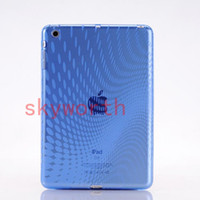 Wholesale Water drop Soft TPU Silicone Clear Back Case Protective Cover For ipad mini Tablet PC