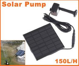 Wholesale Hot Sell Pool Water Pump Garden Plants Watering Kit Solar Power Fountain Soar Pump Water Pump Fre
