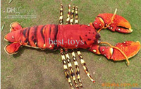 Plush Multicolor 0-12 Months Animal Plush Toys Lobster hold pillow fluffy pillow 10pcs lot