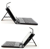 Keyboard Case 7'' universal universal 7 inch USB keyboard Folding leather case with stand for 7 inch Tablet MID cheap keyboard case