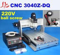 Высокая точность фрезерный станок с ЧПУ гравер с ЧПУ 3040 Z-DQ, Шариковый винт дизайн (с автоматической проверки инструмента)