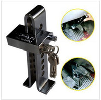automobile anti theft - Car anti theft lock for automobile clutch brake clutch lock lock the throttle lock top sale