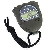 Sport Unisex Chronograph 200pcs lot Stopwatch Digital LCD Display Chronograph Timer Calendar 1 100 SEC KTJ TA228 Free Shipping