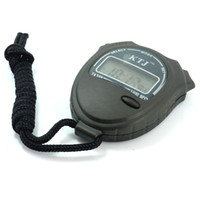 Cheap Free shipping50pcs lot Stopwatch Digital Chronograph Timer Calendar 1 100 sec KTJ TA228