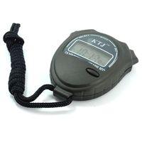 Sport Unisex Chronograph 50pcs lot Stopwatch Digital LCD Display Chronograph Timer Calendar 1 100 SEC KTJ TA228 Free Shipping