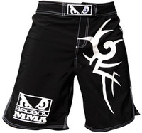 Wholesale Hot MMA BAD B0Y MMA Scrupper Fight short breeches freeshipping