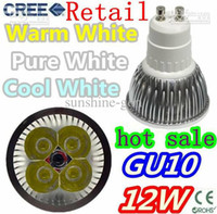 Wholesale ON SALES DHL FREE W GU10 E27 MR16 X3W CREE LED DOWNLIGHT ENERGY SAVING LIGHT BULB LAMP Spotlight
