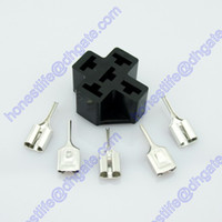 Wholesale PCB DIP V Volt Amp Pin mm Terminal Car ON OFF Relay Socket