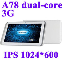 Wholesale AMPE A78 Dual Core Built in G quot IPS Screen QUALCOMM Phone Call GPS WiFi Bluetooth