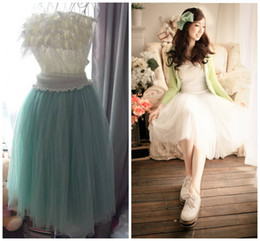 Wholesale 2013 Spring Korea style women Princess long tulle skirt Six color elastic waist Ball skirt hot sale promotion