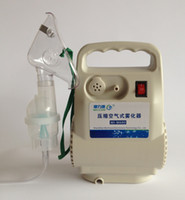 Wholesale 5pcs EMS Household air compressed mistorizer Children or Adults medical atomizing spray machine